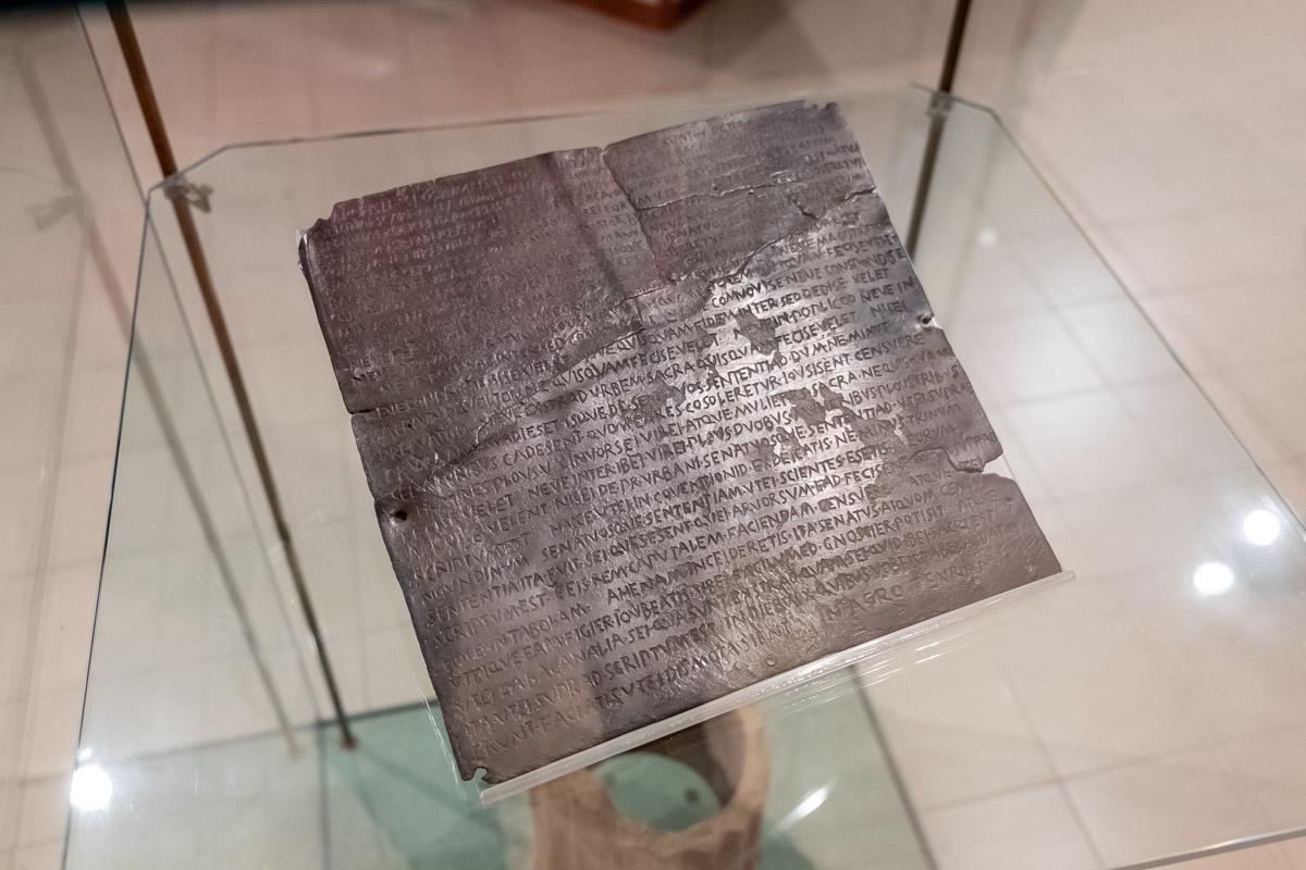 Museo Civico di Tiriolo - reperti archeologici