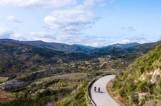 L'altopiano della Sila in bici