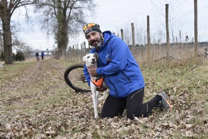 Alessandro Usignolo, referente nazionale della Dog Endurance