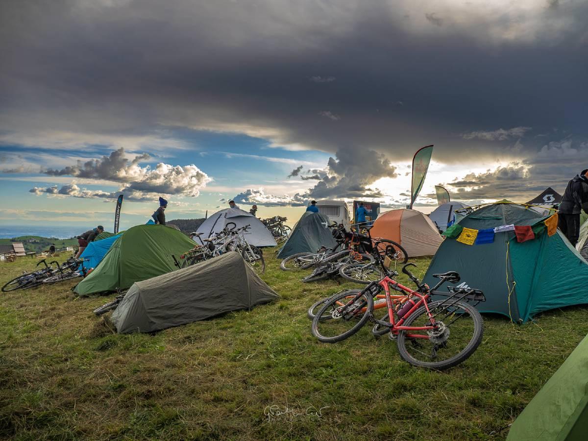 BAM! Campfire Monti Lessini tende cicloviaggiatori