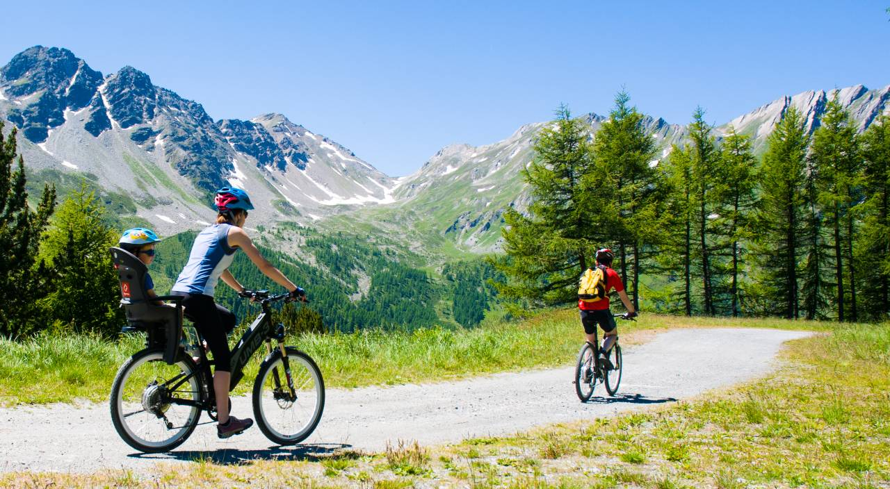 cicloturismo itinerario famiglie