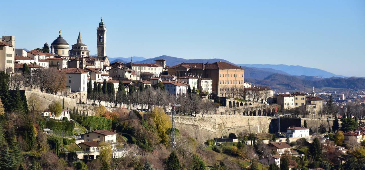 Ciclovia della Cultura Bergamo Brescia le Mura Venete di Bergamo