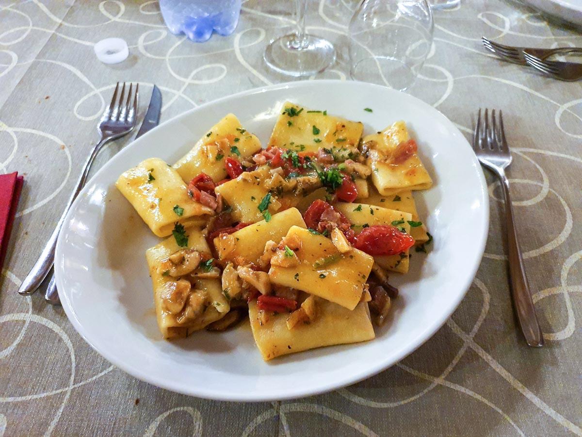 Primo piatto | Ciclovia Parchi Calabria