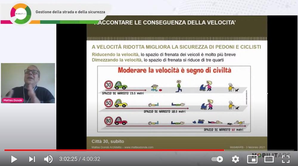 Sicurezza stradale Matteo Dondé Città 30