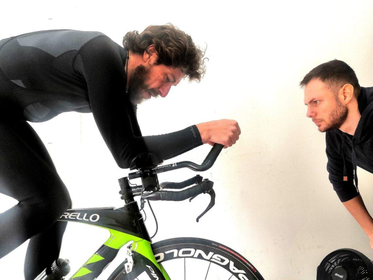Posizione in bici comodità