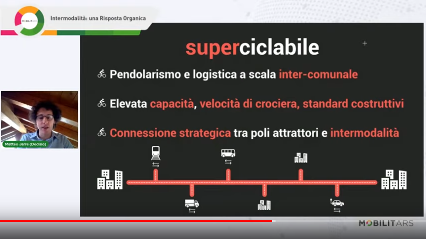 superciclabile intermodalità