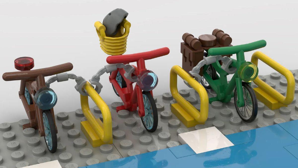 Parcheggi per bici Lego Ideas