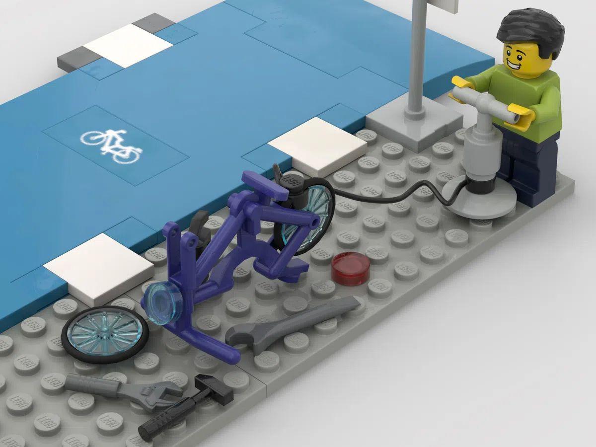 Lego Ideas kit riparazione bici