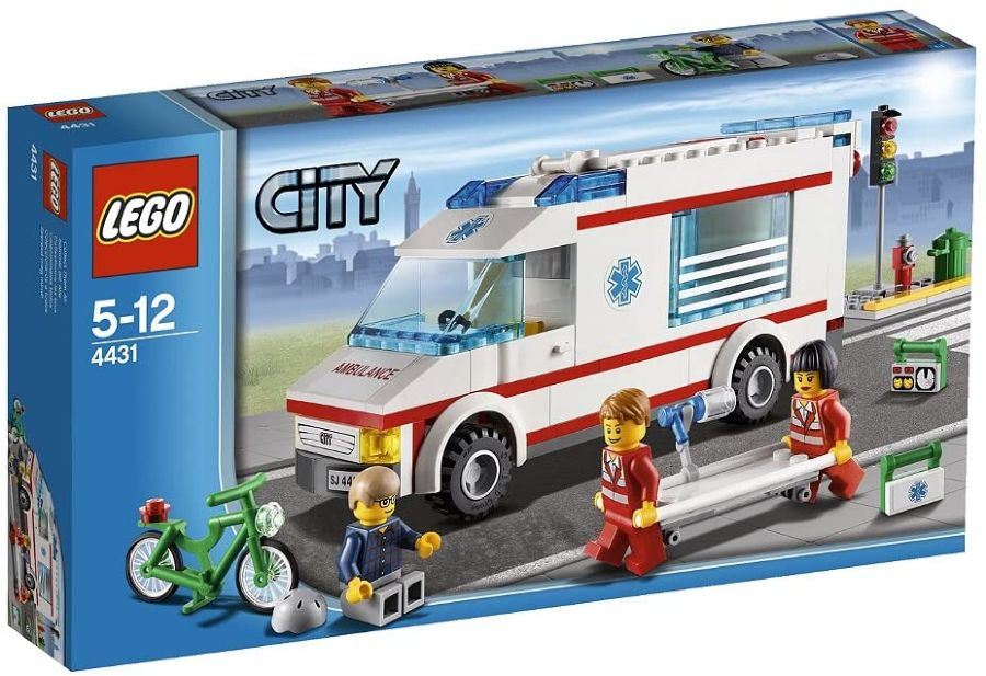 Set ambulanza ciclista Lego