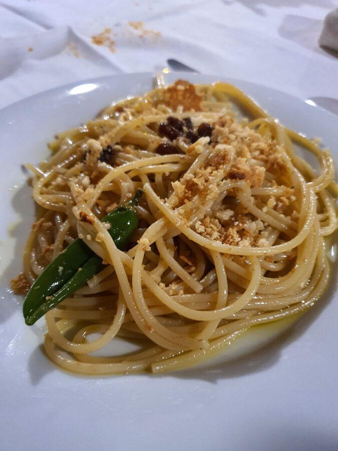 Spaghetti ca muddica atturrata