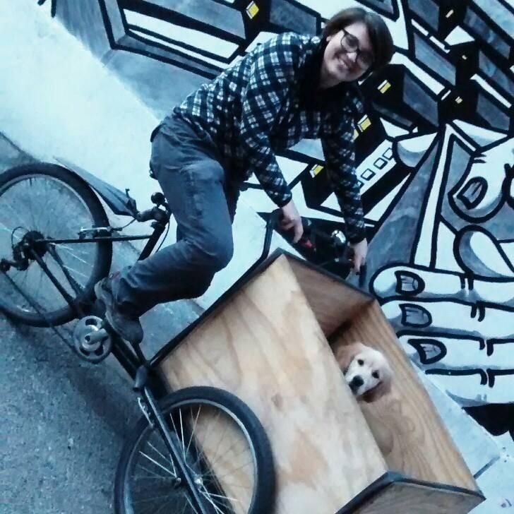 Cargobike cane