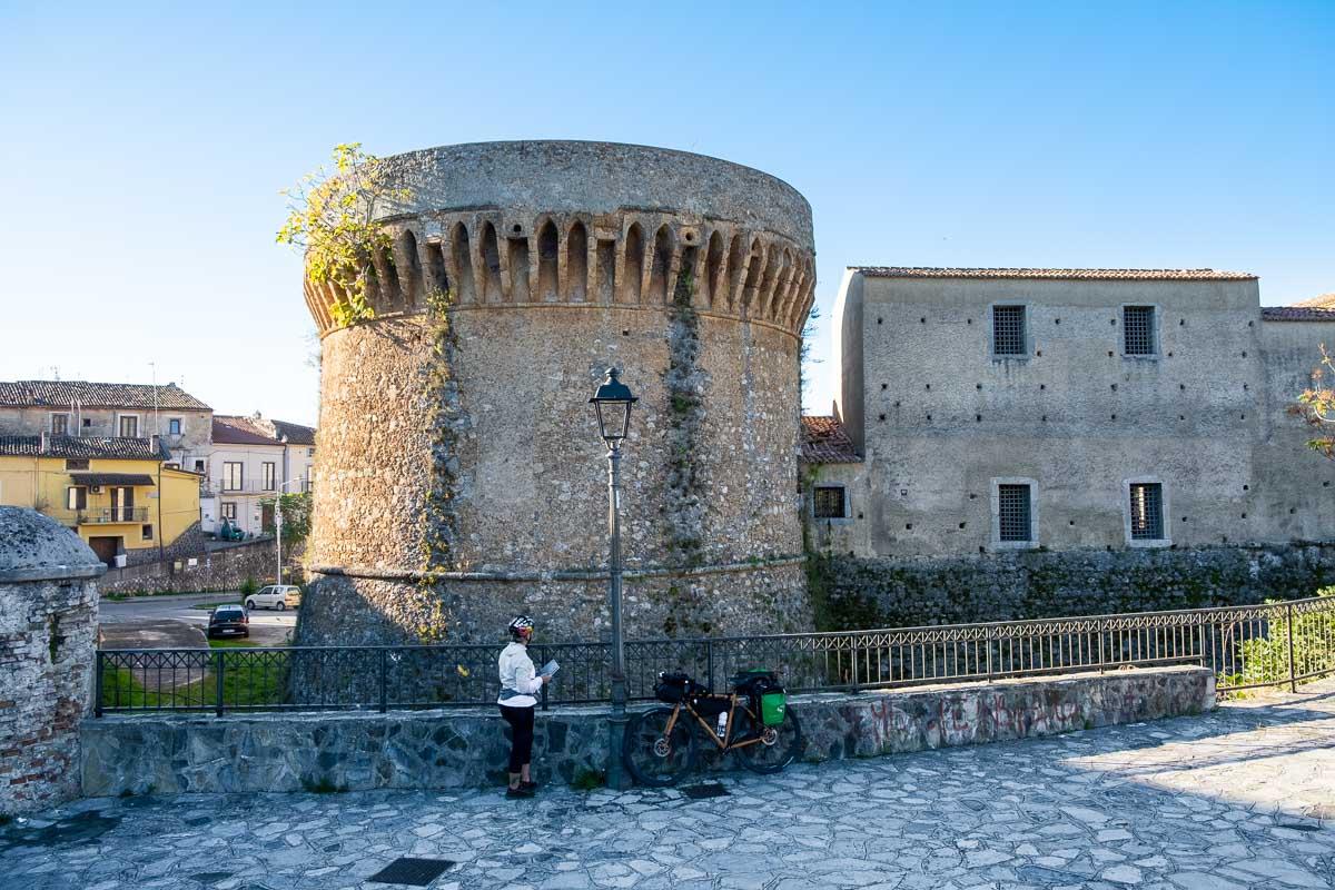 Castello Ciclovia Parchi della Calabria