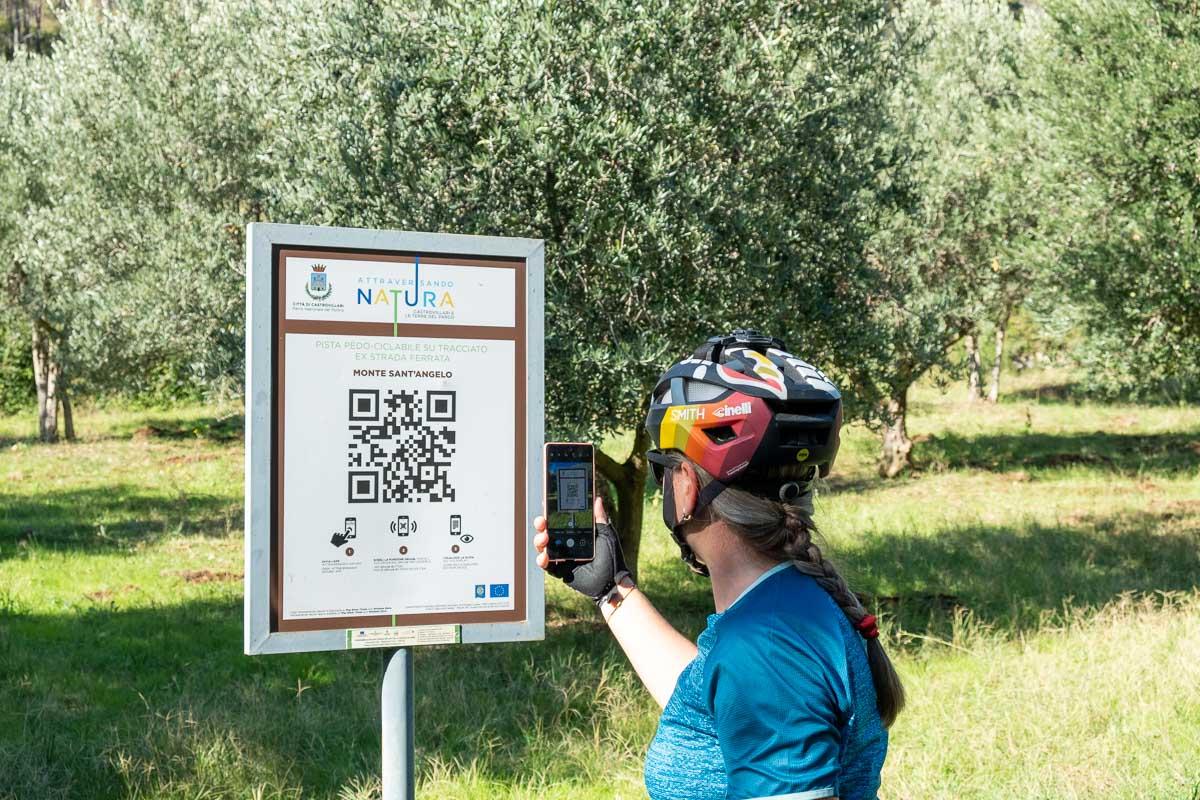 QR Code Parco del Pollino Calabria