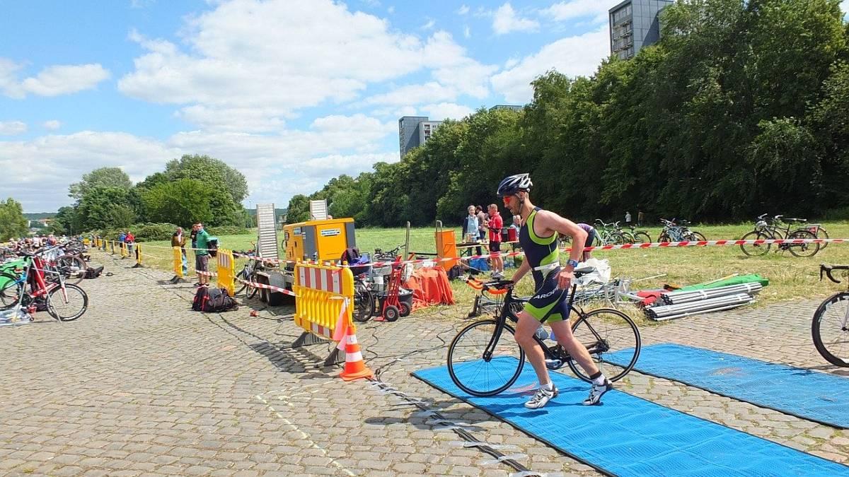 Triathlon transizioni allenamento