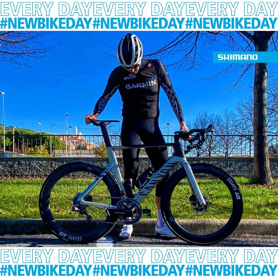 Contest Shimano #NewBikeDay