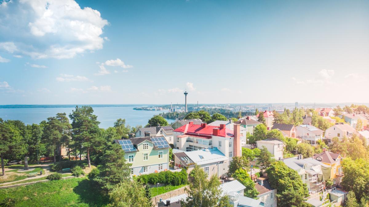 Tampere case e verde