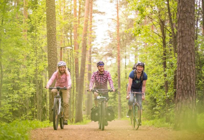 Laghi Tampere in bicicletta