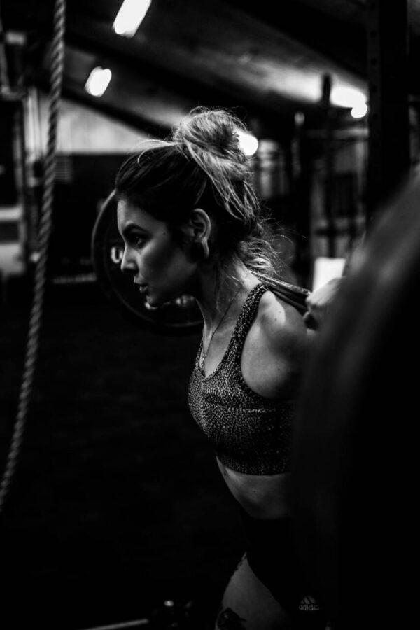 allenamento forza squat