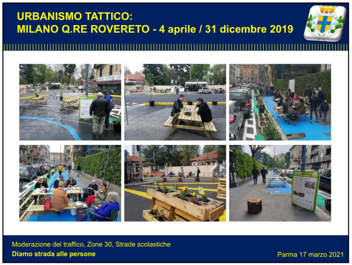 Urbanismo tattico Milano Rovereto