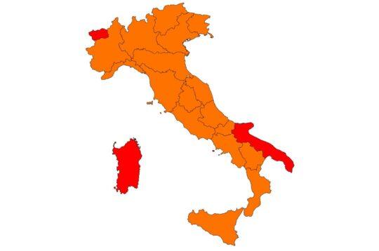 Colori delle Regioni dal 19 Aprile 2021, Covid-19
