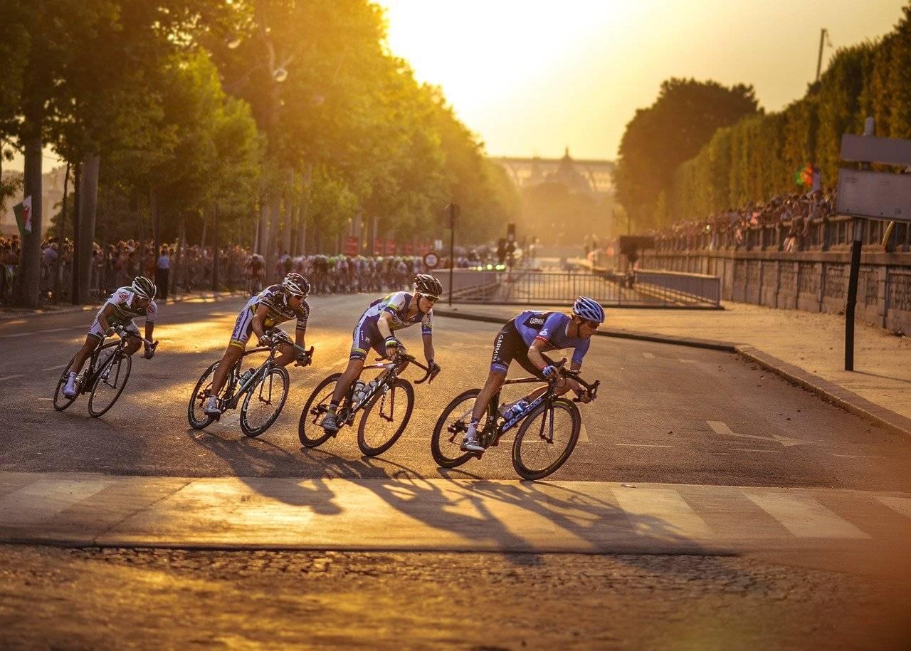 Ciclisti massa muscolare