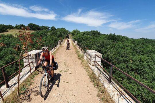 Cicloia Acquedotto Pugliese ponte canale