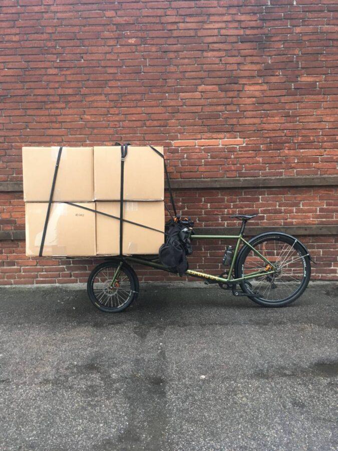 Emma Missale cargo bike carica