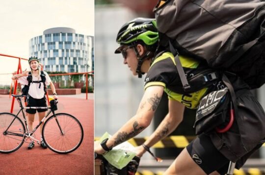 Emma Missale urbanista bike messenger