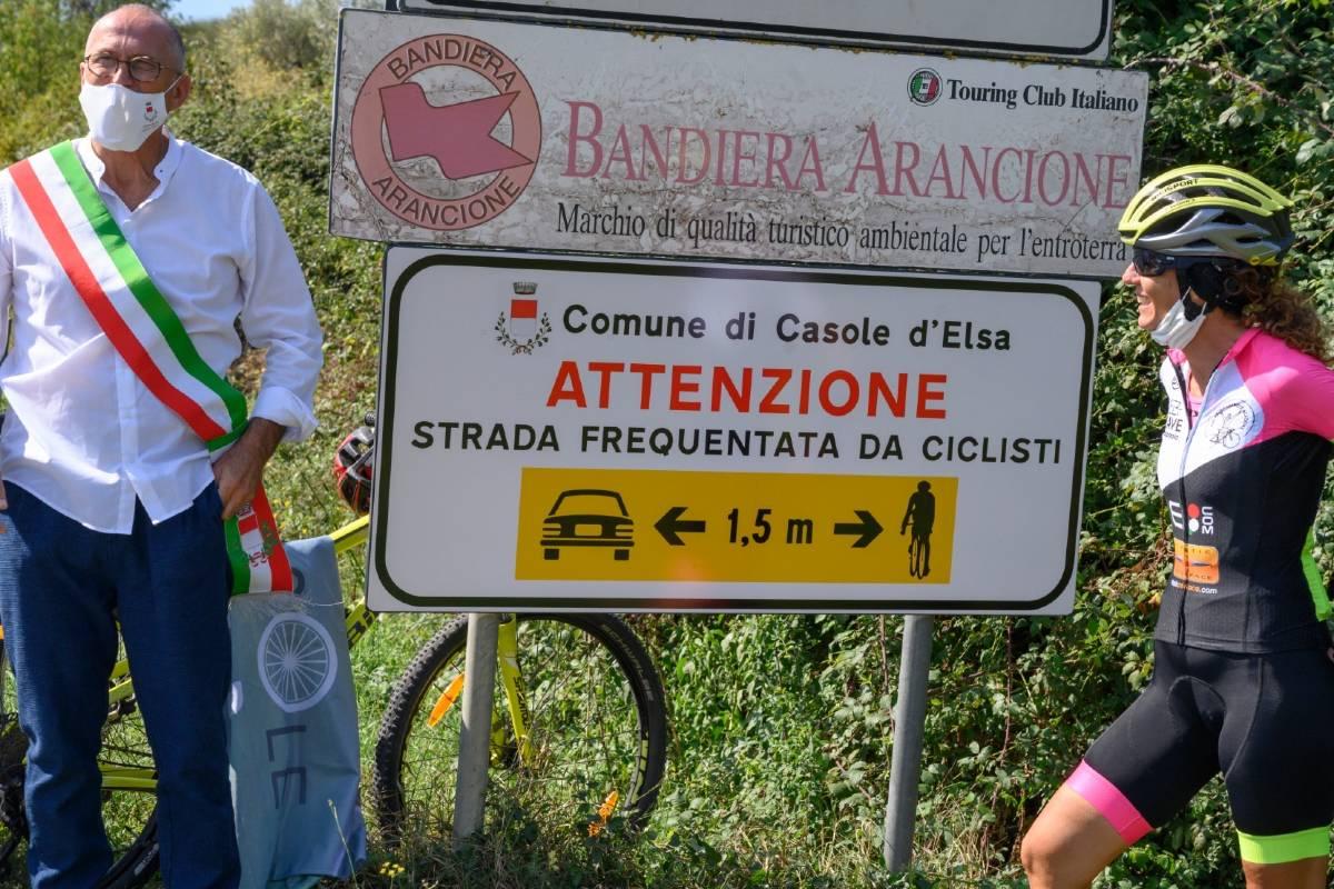 Io rispetto il ciclista Paola Gianotti