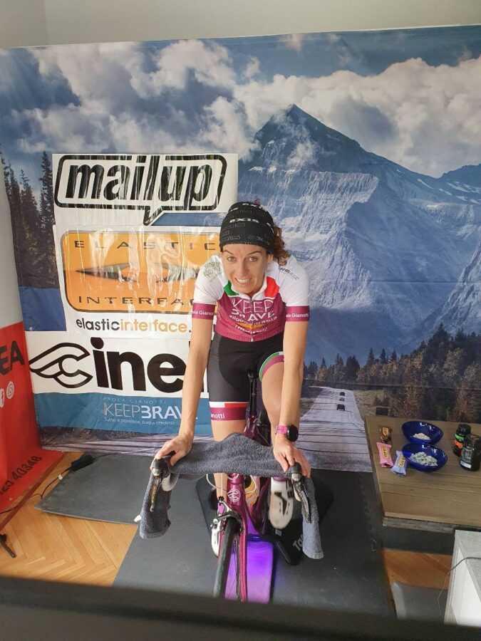 Paola Gianotti Guinness World Record