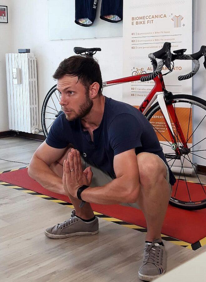 Postura in bicicletta
