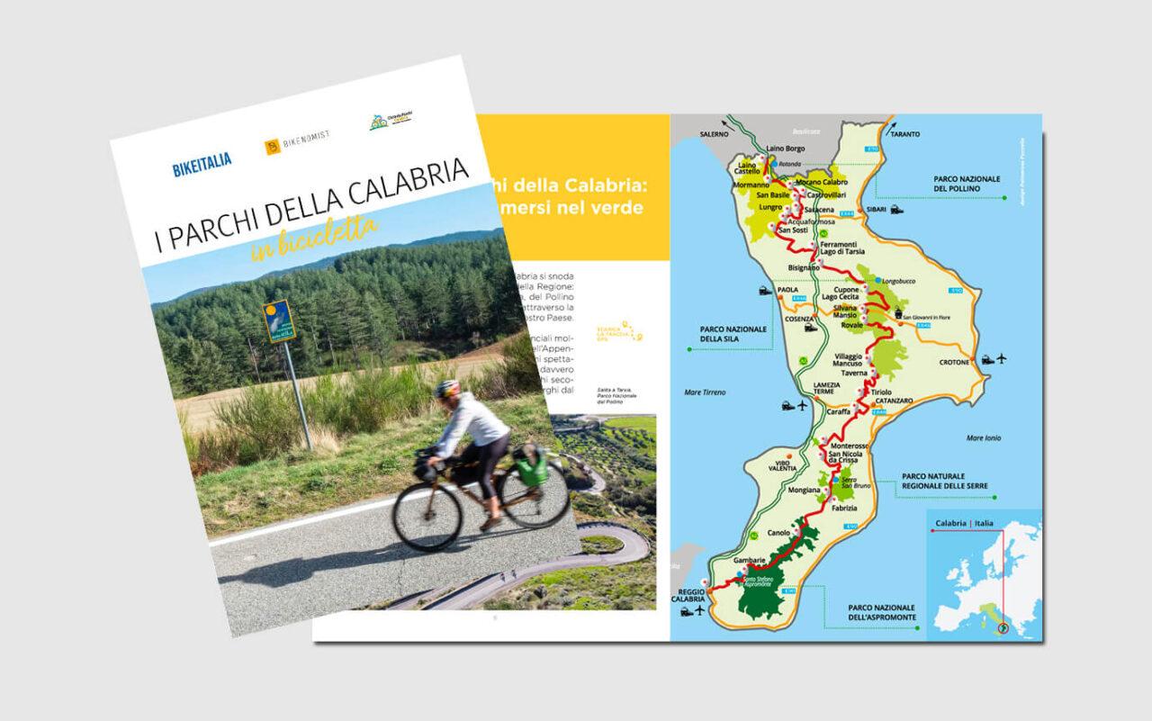 Ebook Ciclovia Parchi Calabria