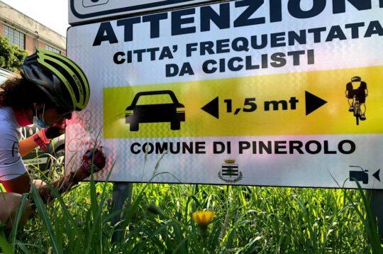 Paola Gianotti sicurezza stradale io rispetto il ciclista