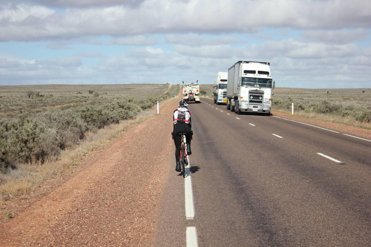 Paola Gianotti deserto Australia Tir