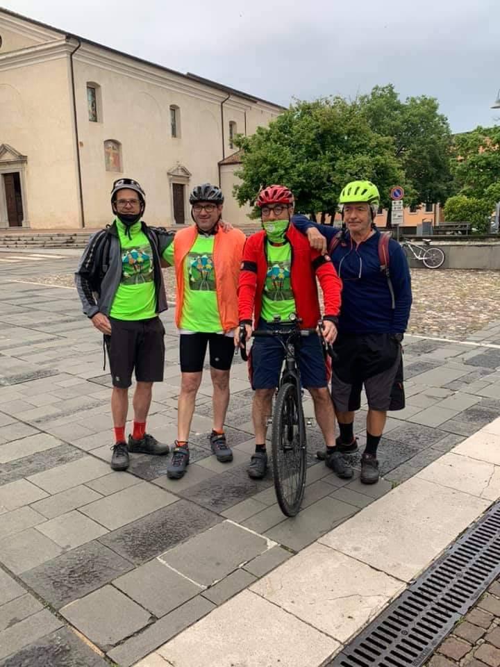 in bici col Parkinson 700 km in 7 giorni
