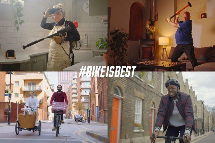 Bike Is Best campagna pro bici Regno Unito
