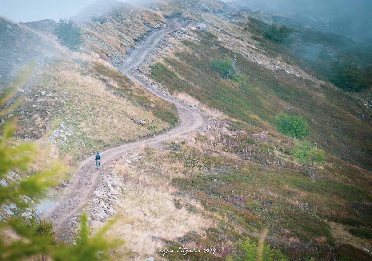 Strada sterrata Liguria Bike Trail