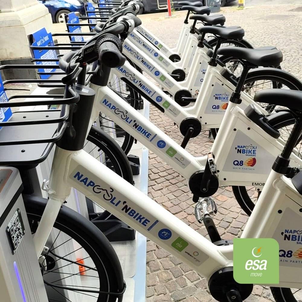 Ebike bike sharing Napoli