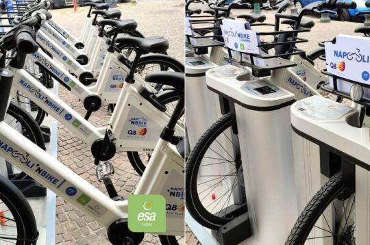 Napoli bike sharing Q8