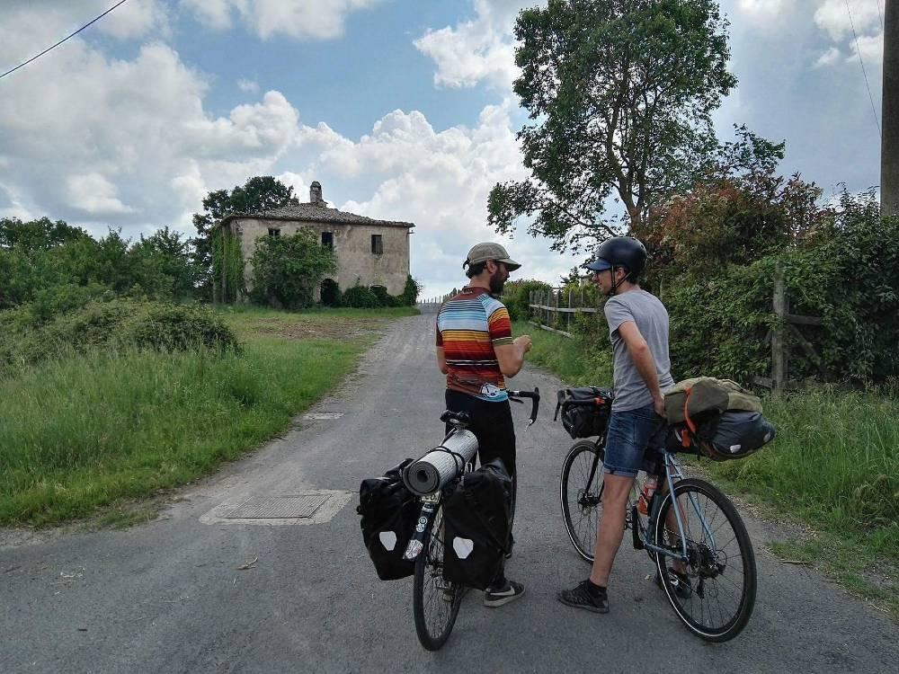 Itinerario gps bici traccia