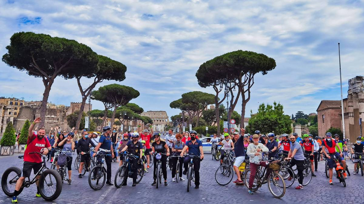 Bikeitalia Day Roma foto Andrea Romagnoli