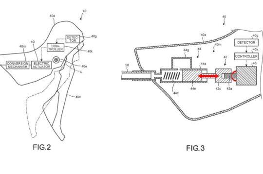 Shimano brevetto frenata elettronica