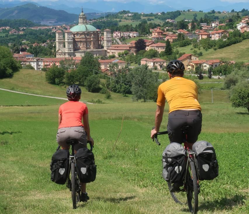 cuneo vicoforte santuario in bicicletta cicloturismo