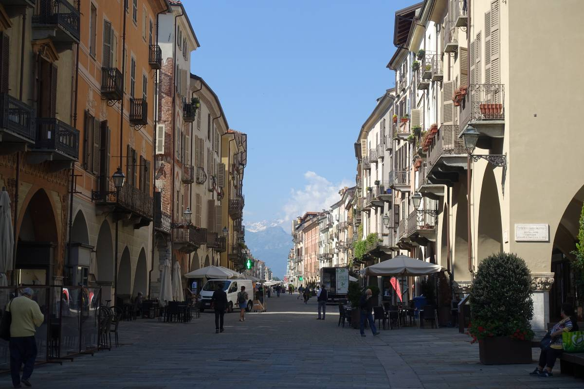 Cuneo città cicloturismo
