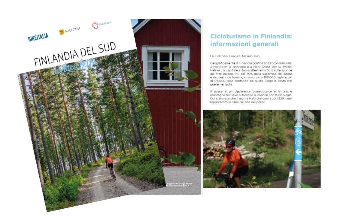 finlandia in bicicletta ebook copertina
