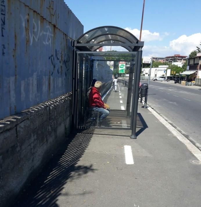 Barriere architettoniche su pista ciclabile