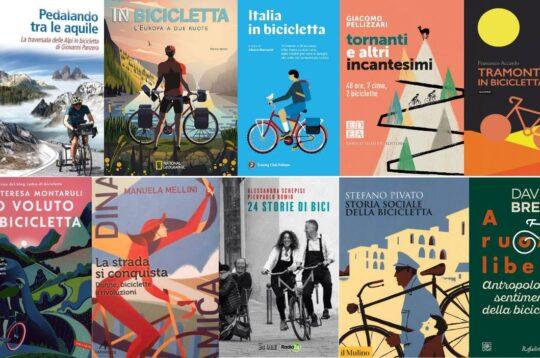 Le copertine dei 10 libri di bici per le vacanze 2021 consigliati da Bikeitalia