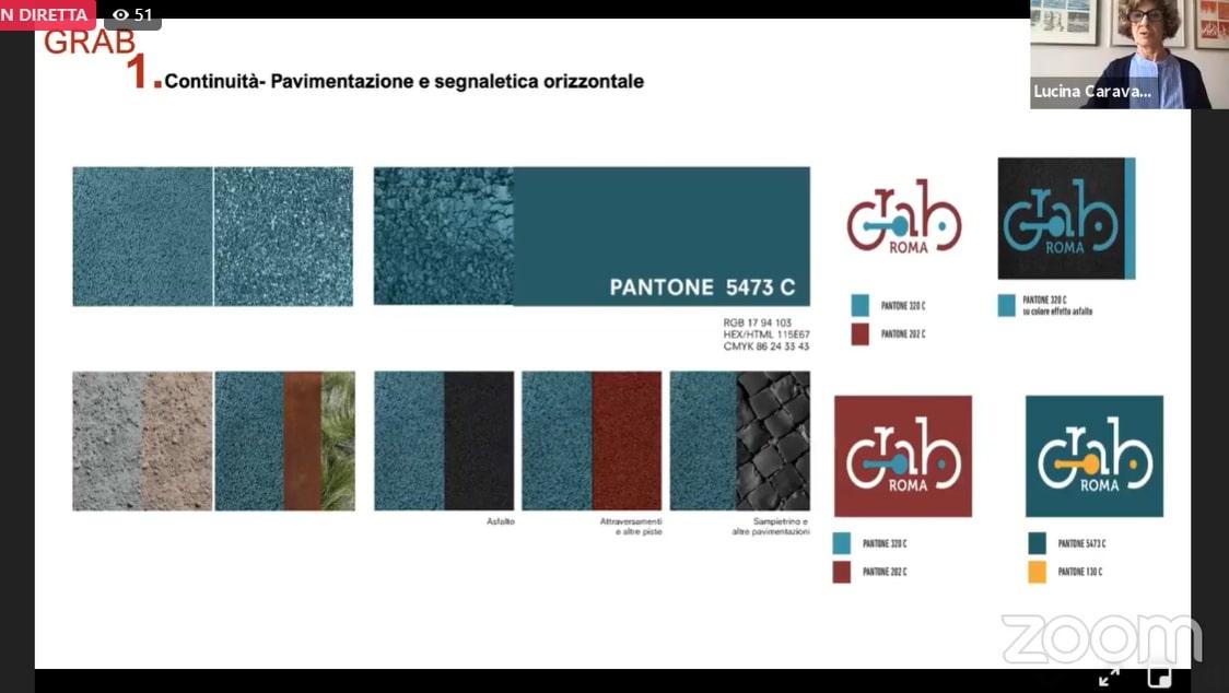 GRAB palette colori pavimentazioni