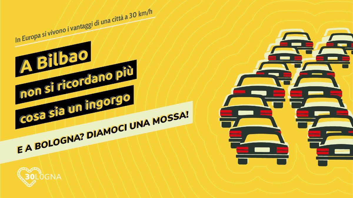 Meno traffico e meno stress grazie al limite di velocità di 30 km/h a Bilbao