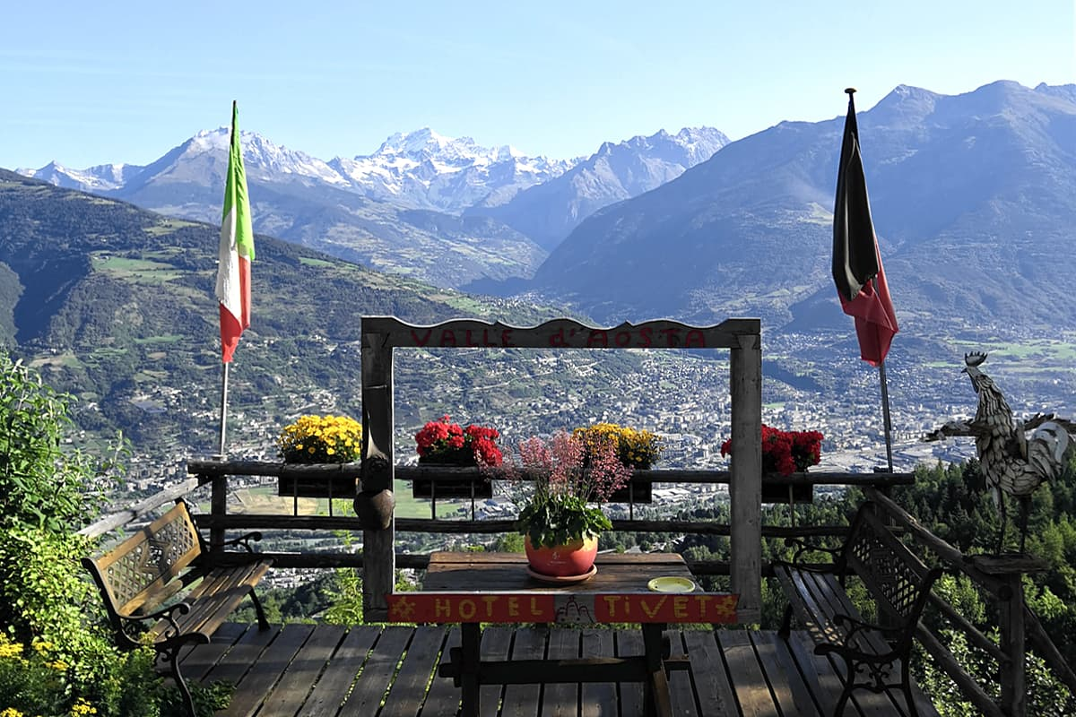 Hotel Tivet Pila Bikeland Valle d'Aosta
